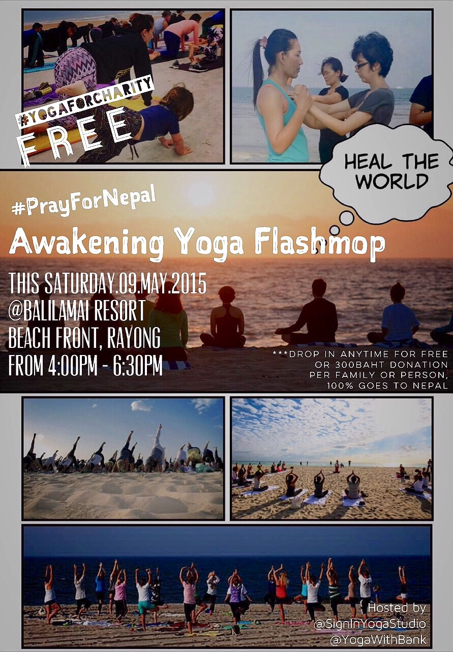 Please join us #PrayForNepal #AwakenForHumanity